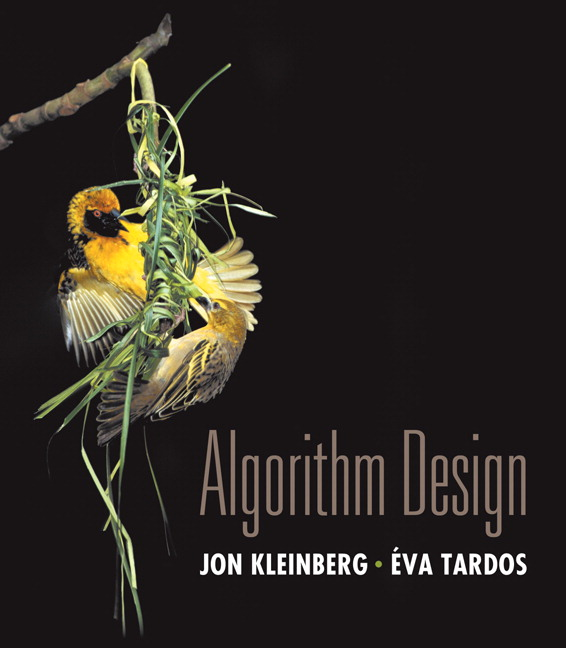 Book: Algorithm Design by Jon Kleinberg