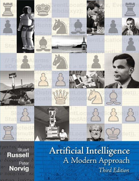 Artificial Intelligence: A Modern Approach (3rd Edition) by Stuart Russell