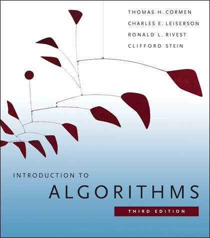 Book: Introduction to Algorithms by Thomas H. Cormen