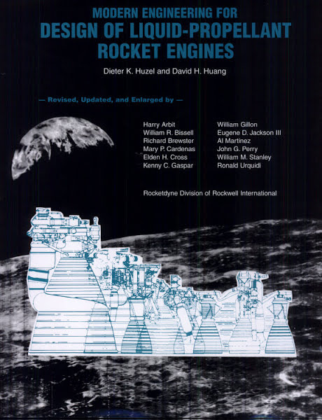 Modern Engineering for Design of Liquid-Propellant Rocket Engines by Dieter K. Huzel