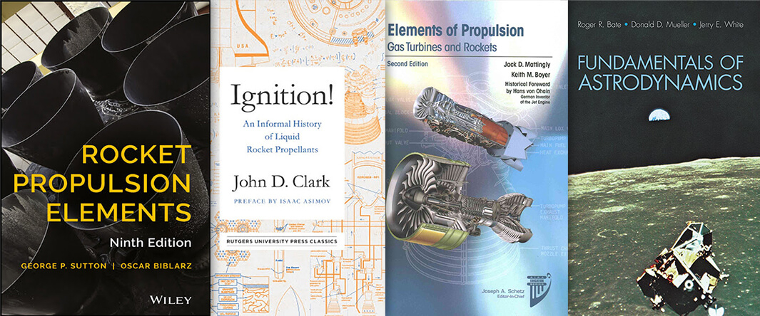 Rocket Design Reading List by Elon Musk